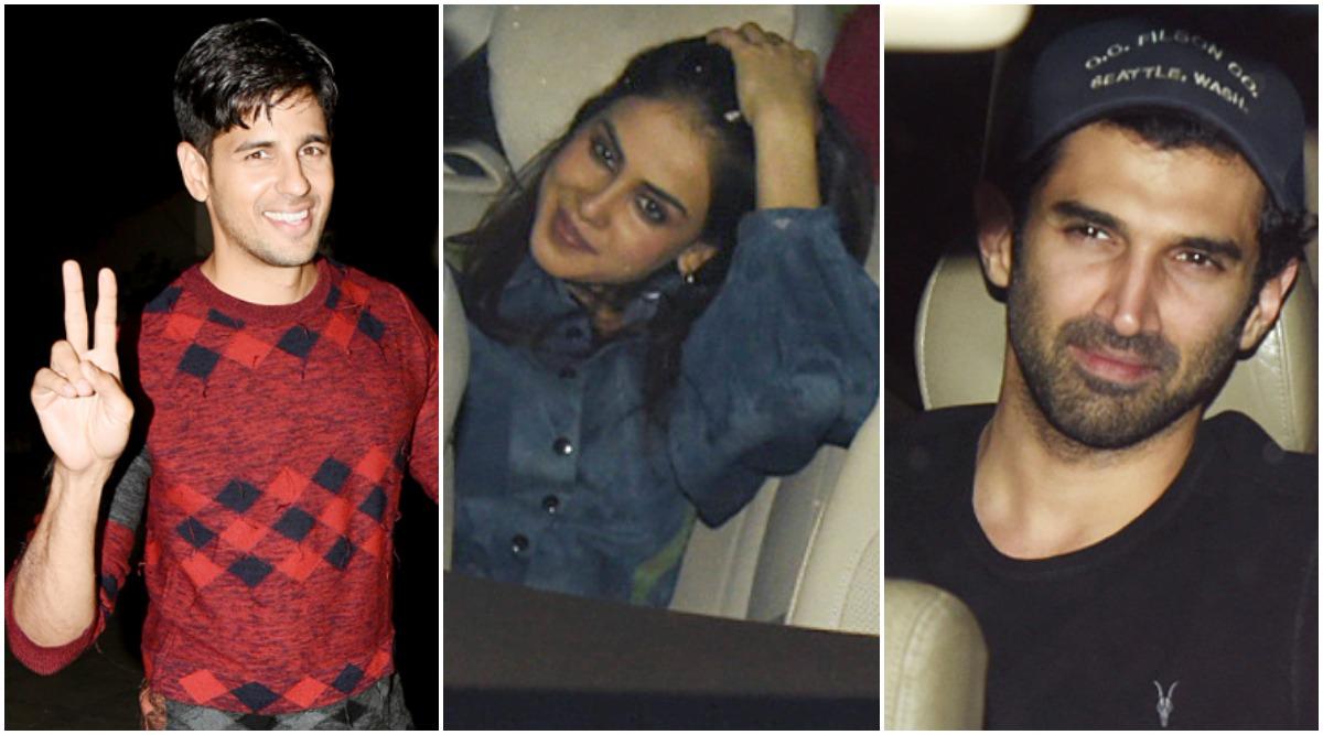 Sidharth Malhotra Turns 35! Genelia Deshmukh, Aditya Roy Kapur and Others Attend the Actor's Birthday Bash (View Pics)