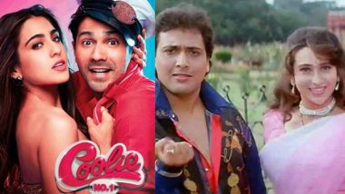 Coolie No 1: Varun Dhawan-Sara Ali Khan to Recreate Govinda-Karisma Kapoor's Iconic Dance Number 'Main Toh Raste Se Ja Raha Tha'?