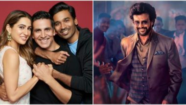 Atrangi Re: How Akshay Kumar Became the Second Bollywood Superstar to Work With Both Rajinikanth and Dhanush!
