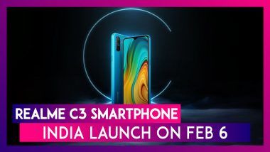 Realme C3 Smartphone Launching In India On February 6; Expected Prices, Features, Variants & Specifications