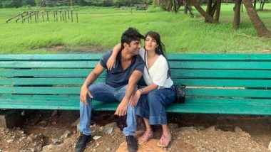 Did Rhea Chakraborty Just Make Her Relationship With Birthday Boy Sushant Singh Rajput Insta Official?