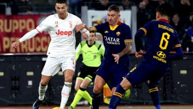 Cristiano Ronaldo Displays Crazy Football Skills Against Chris Smalling During Roma vs Juventus, Serie A 2019-20 (Watch Video)