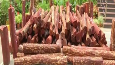 Nepal to Handover 173,072 Kg of Red Sandalwood to India Confiscated While Being Supplied to China