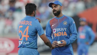 Virat Kohli-Led Team India Fined for Slow Over-Rate in Final T20I Against New Zealand