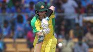 Steve Smith Scores his 9th ODI Century During India vs Australia Match in Bengaluru