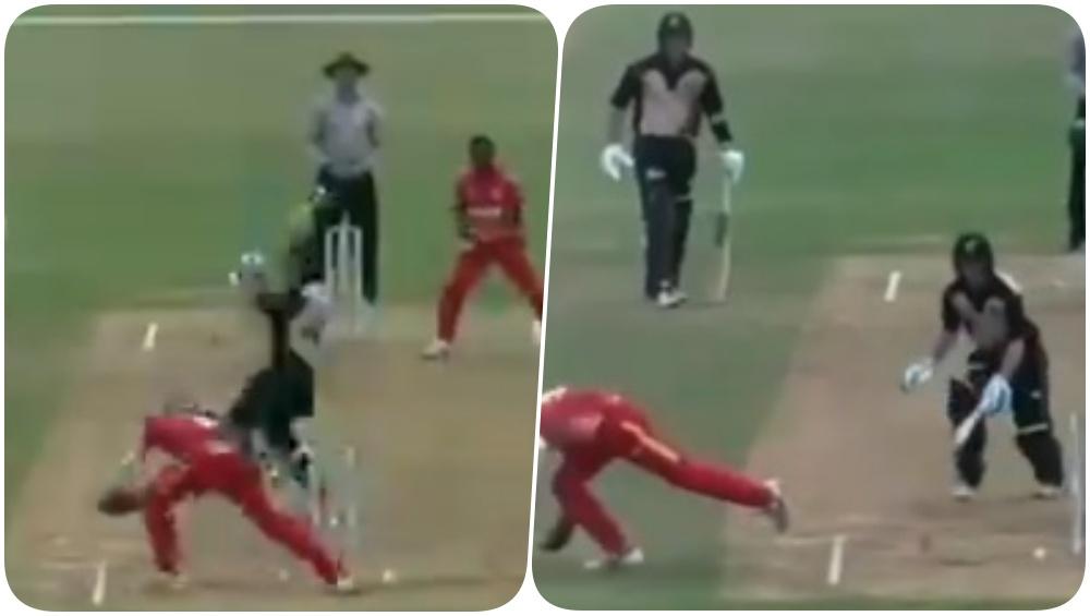 Zimbabwe U-19 Cricketer Dane Schadendorf Replicates MS Dhoni's Stumping in Match Against New Zealand (Watch Video)