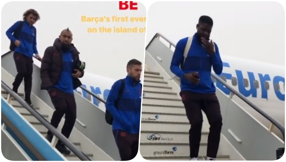 Lionel Messi, Sergio Busquets & Gerard Pique Rested for Copa del Rey 2019-20 Against Ibiza, Catalan Giants Reach White Isle (Watch Video)
