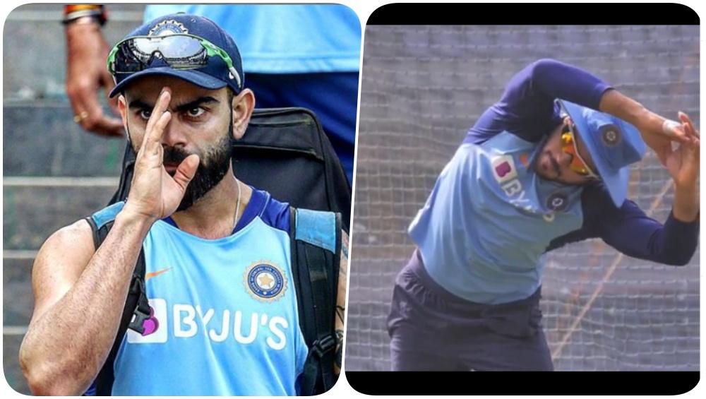 Team India Sweats it Out Ahead of India vs Australia 1st ODI 2020 in Mumbai (See Pics & Videos)