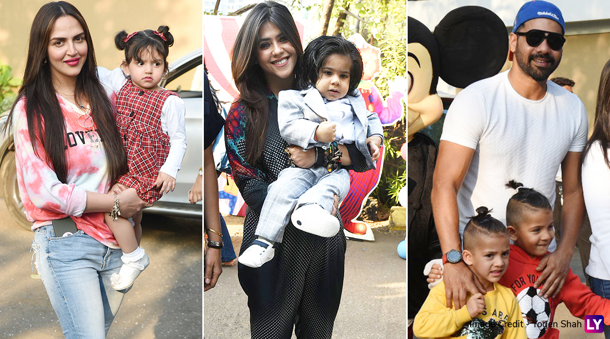 Ekta Kapoor's Li'l Munchkin Ravie Kapoor Turns 1, Soap Queen Throws a Grand Bash With Shabir Ahluwalia, Esha Deol and Others in Attendance (View Pics)