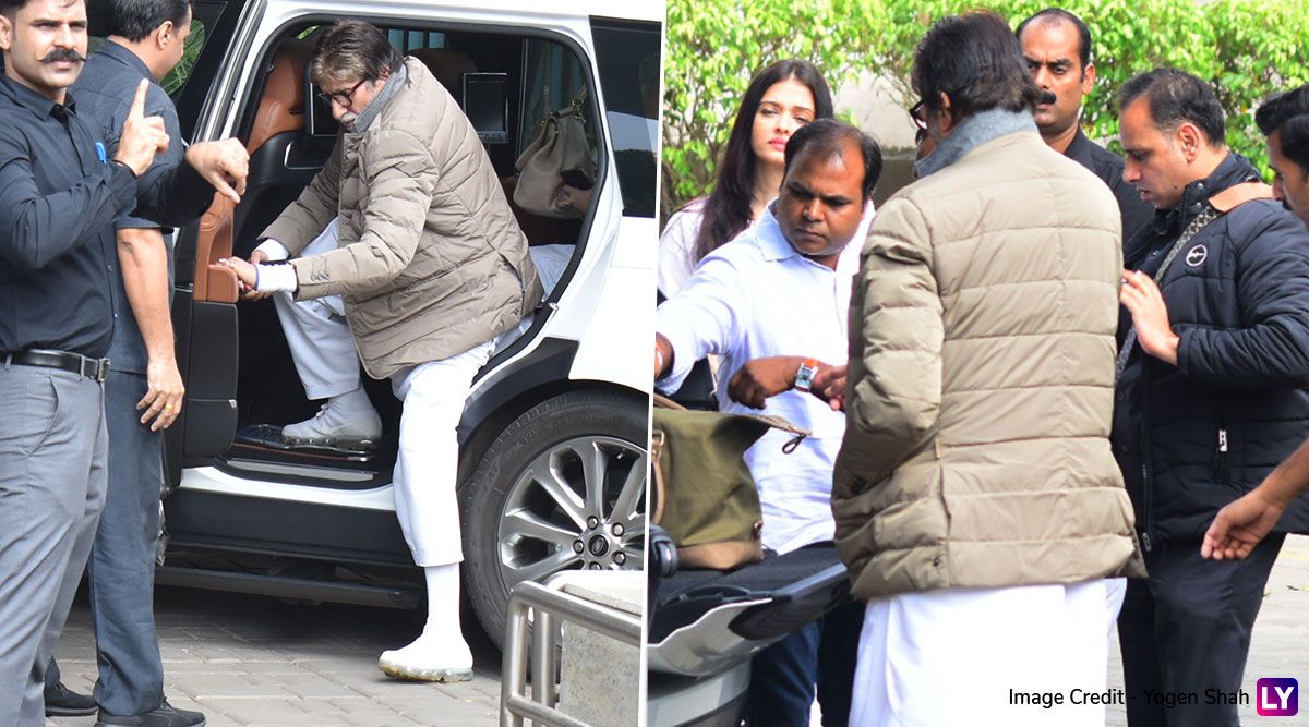 Ritu Nanda Funeral: Amitabh Bachchan and Aishwarya Rai Leave For Delhi To Pay Last Respects to Shweta Nanda's Mother-In-Law (View Airport Pics)