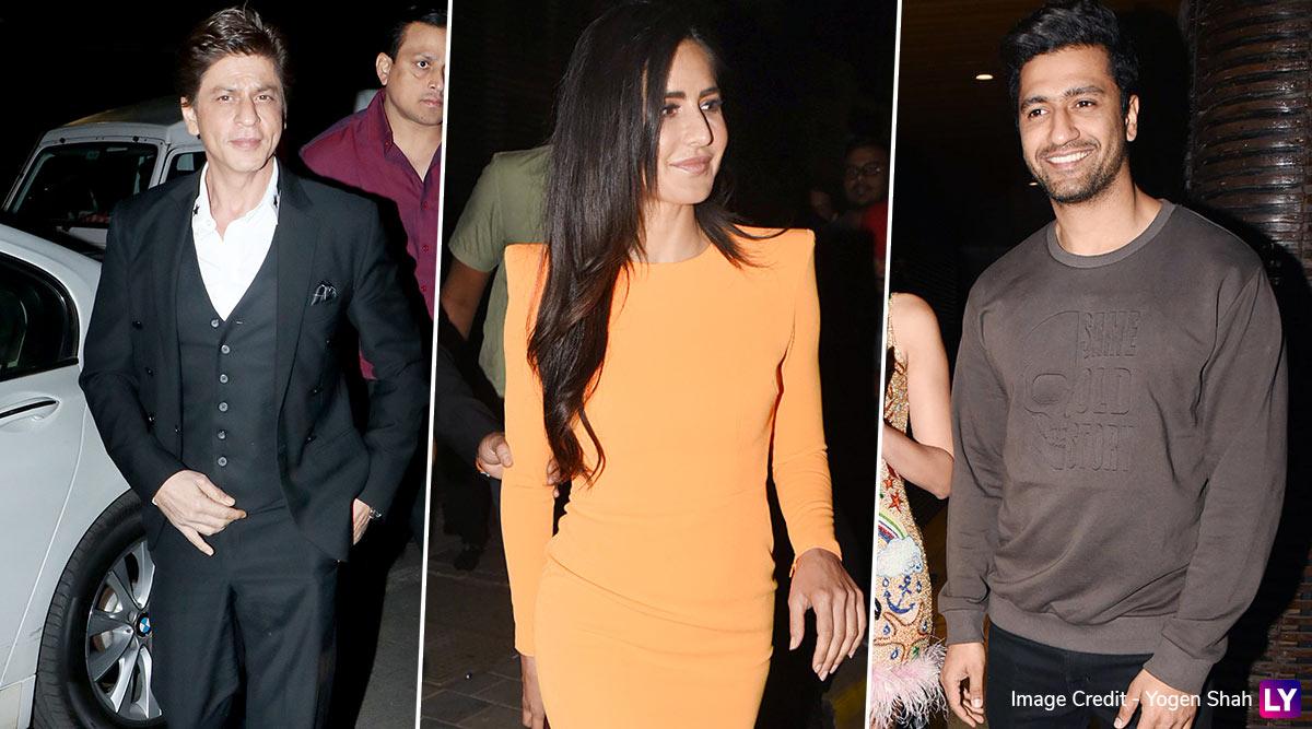 Shah Rukh Khan, Katrina Kaif, Vicky Kaushal and Others Make a Stylish Appearance at Ali Abbas Zafar's Birthday Bash (View Pics)