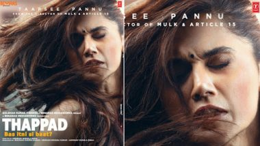 Thappad Movie: Review, Cast, Box Office Prediction, Budget, Story, Trailer, Music of Taapsee Pannu's Social-Drama