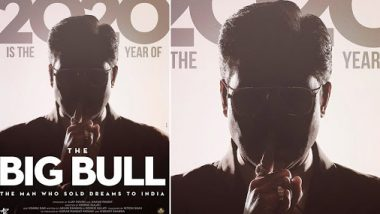 The Big Bull Poster: Abhishek Bachchan Is Imposing And He Wants You To Stay Quiet (View Pic)