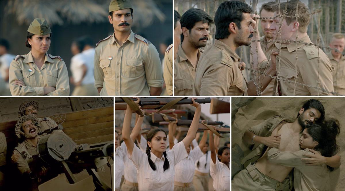 The Forgotten Army Trailer: Kabir Khan's Series Starring Sharvari and Sunny Kaushal Looks Binge-Worthy (Watch Video)