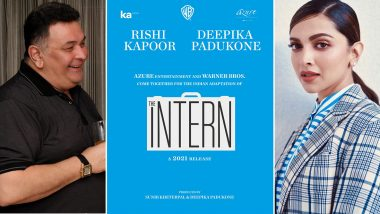 Deepika Padukone Announces Her Next With Rishi Kapoor, Indian Adaptation of Anne Hathaway - Robert De Niro's The Intern To Release In 2021
