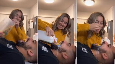 Cereal Challenge Goes Viral on TikTok With Teens Eating the Breakfast Food From Each Other's Mouth (Watch Videos)
