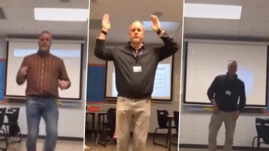 Kentucky Junior High School Teacher's Impressive Dance Moves Take Over the Internet, Students Are in Love With His Viral TikTok Videos