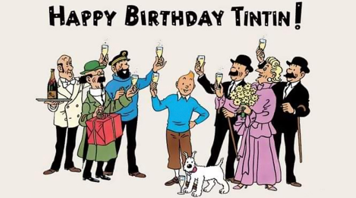 Happy Birthday Tintin! Fans Take to Twitter Honouring Their Favourite Comic Character As He Turns 91 Today (Check Tweets)