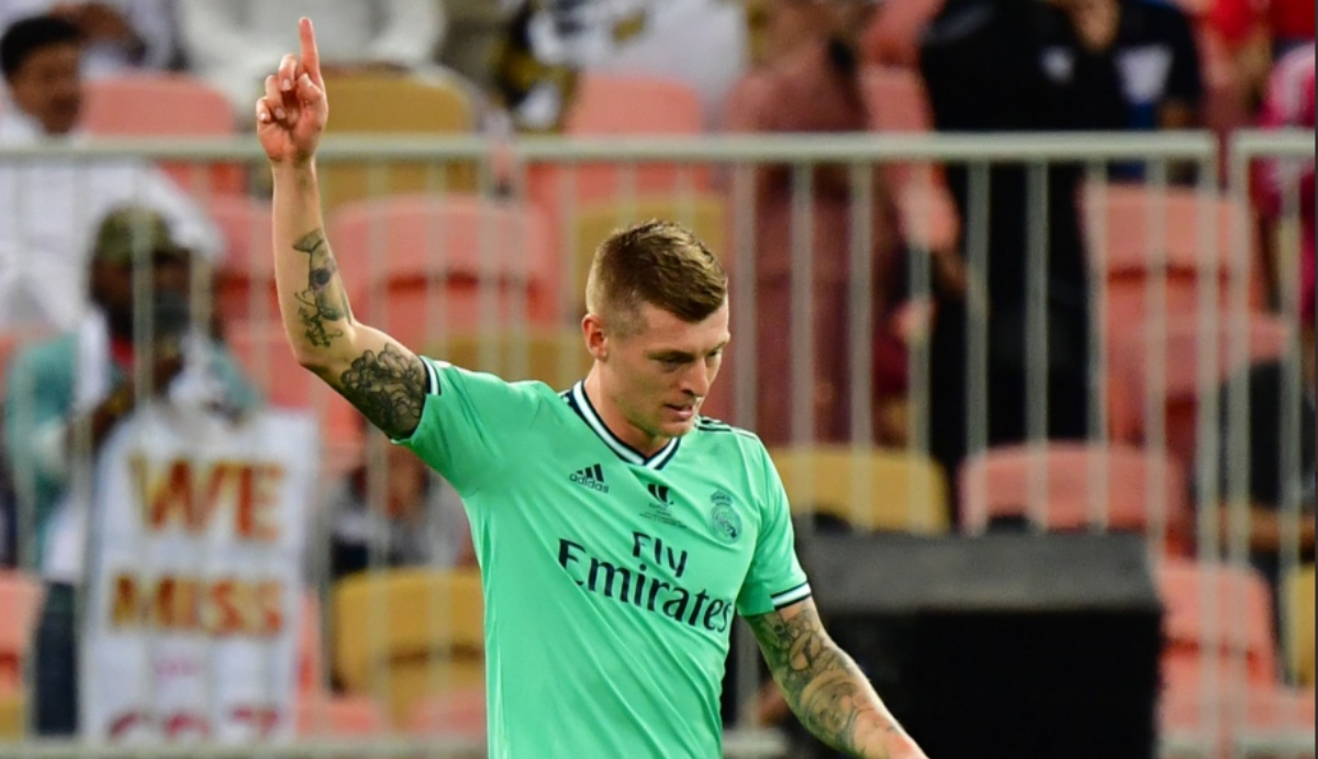 Toni Kroos Amazes the Internet With a Crazy Goal During Valencia vs Real Madrid, Supercopa De Espana 2019-20 (Watch Video)