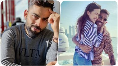 Virat Kohli Congratulates Hardik Pandya on his Engagement with Natasa Stankovic, Says, 'What a Pleasant Surprise'