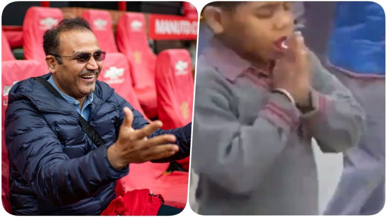 Virender Sehwag Shares a Viral Video of a Naughty Kid Which Will Make You Nostalgic About Your Childhood