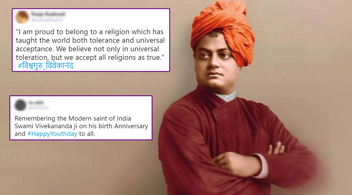 Swami Vivekananda Jayanti 2020 Wishes & Posters: People Celebrate National Youth Day by Sharing Inspirational Quotes by the Indian Philosopher