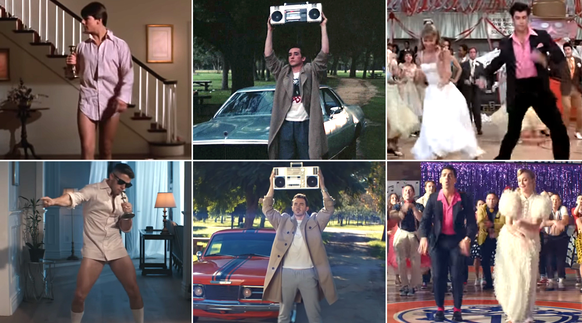 What A Man Gotta Do Vs Original: Jonas Brothers' Song Ft Priyanka Chopra Pays Tribute To Classic Hollywood Movies (Watch Videos)