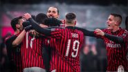 Zlatan Ibrahimovic Scores a Goal Against Torina in Coppa Italia 2019-20 Tie, Says, 'I Never Left AC Milan' (Watch Video)