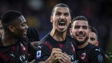 Zlatan Ibrahimovic Records One of the Fastest Sprints This Season During Cagliari vs AC Milan Serie A 2019-20 Match, Clocks 32.45 km/h (Watch Video)