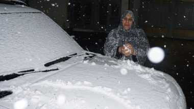 Iraq: Baghdad Receives Ultra-Rare Snowfall, Only Second of the Century, Residents Rush for 'Snowball Fights' (See Pics)