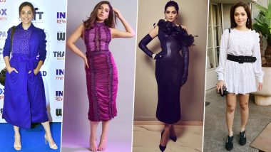 Sonam Kapoor, Bhumi Pednekar and Taapsee Pannu Disappoint the Fashion Connoisseurs this Week (View Pics)