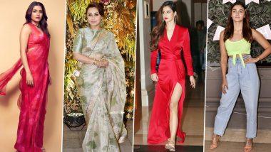 Disha Patani, Samantha Akkineni and Alia Bhatt Set the Fashion Ball Rolling this Week (View Pics)