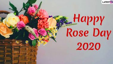 Rose Day 2020 Greetings & Images: WhatsApp Stickers, Messages, GIFs, Photos, SMS and Romantic Quotes on the First Day of Valentine Week to Your Loved One