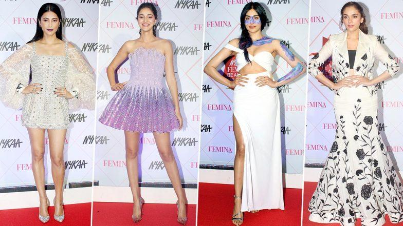 Nykaa Femina Beauty Awards 2020 Worst Dressed: Ananya Panday, Shruti Haasan, Aditi Rao Hydari and Others who Baffled us With their Style Choices (View Pics)