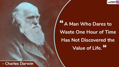Charles Darwin Birth Anniversary: Inspirational Quotes and Sayings by the Naturalist That Will Help One Evolve as a Better Human