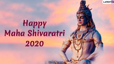 Mahashivratri 2020: Lord Shiva Photos and Wallpapers to Share on the Auspicious Festival