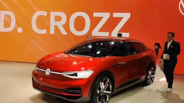 Auto Expo 2020: Volkswagen ID CROZZ Concept Electric Car Unveiled