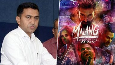 Goa CM Pramod Sawant Upset with Malang Maligning the Image of the State, Ensures Script Checking for Every Movie Now On