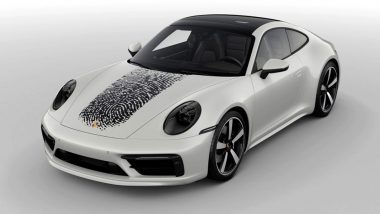 Now Get A Personal Touch To Porsche 911 With Fingerprint Customization for $8,100; View Images