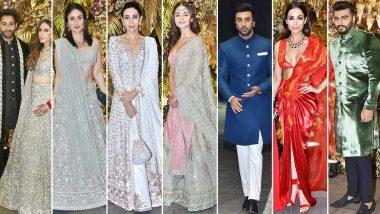 Armaan Jain - Anissa Malhotra Wedding Reception: Kareena Kapoor Khan, Karisma Kapoor, Sonam Kapoor Ahuja, Kiara Advani are a delight!