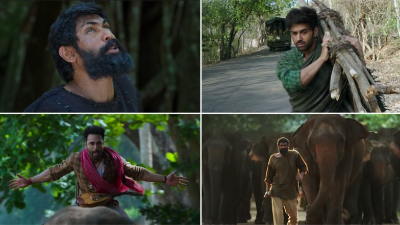 Haathi Mere Saathi Teaser: Rana Daggubati and Pulkit Samrat Wage a War to Protest their Home, Forest  (Watch Video)