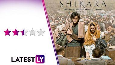 Shikara Movie Review: Vidhu Vinod Chopra's Exploration of Exodus of Kashmiri Pandits Is Affecting in Parts
