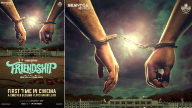 Friendship: Harbhajan Singh is All Set for His Acting Debut, Shares the First Poster of His Tamil Film - View Pic