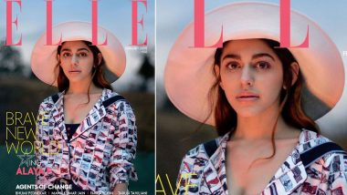 Alaya F is a Blend of Charm and Innocence on the Cover of Elle India's February Issue- View Pic