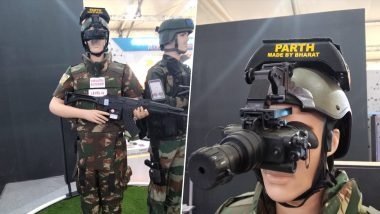 DefExpo 2020: India Showcases World's Cheapest Gunshot Locator, AK-47 Proof Helmet at 11th Edition of Biennial Defence Exhibition