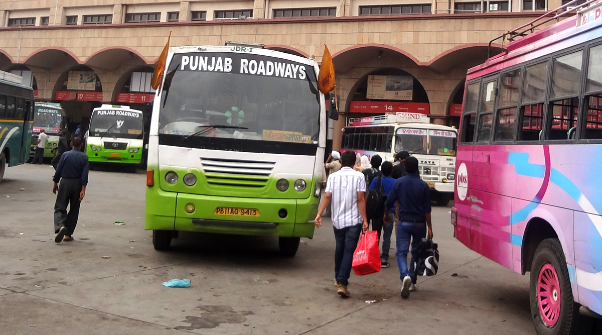 Punjab: 26 Bus Drivers Fined in Mohali for Playing Loud and Lewd Songs Promoting Gun Culture