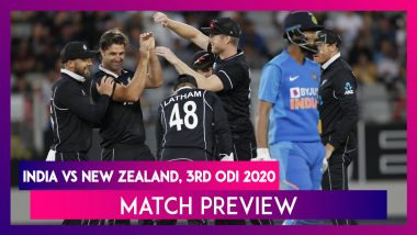 IND vs NZ, 3rd ODI 2020 Preview: New Zealand Eye Whitewash, India Consolation Win