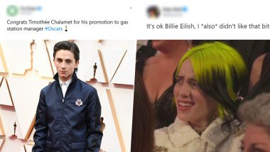 92nd Academy Awards Funny Memes and GIFs: From Billie Eilish's Confused Expression to Martin Scorsese Fighting Sleep During Eminem's Performance, Oscars 2020 Was a Meme Fest
