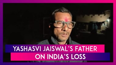 Proud Of My Son But World Cup Win Would Have Made Me Happier, Says Yashasvi Jaiswal's Father