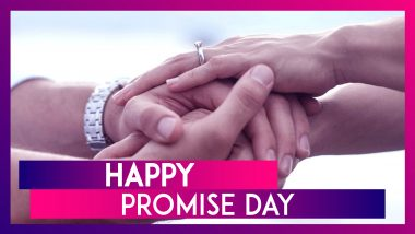 Promise Day 2020 Greetings: WhatsApp Messages & Images To Celebrate The Fifth Day Of Valentine Week